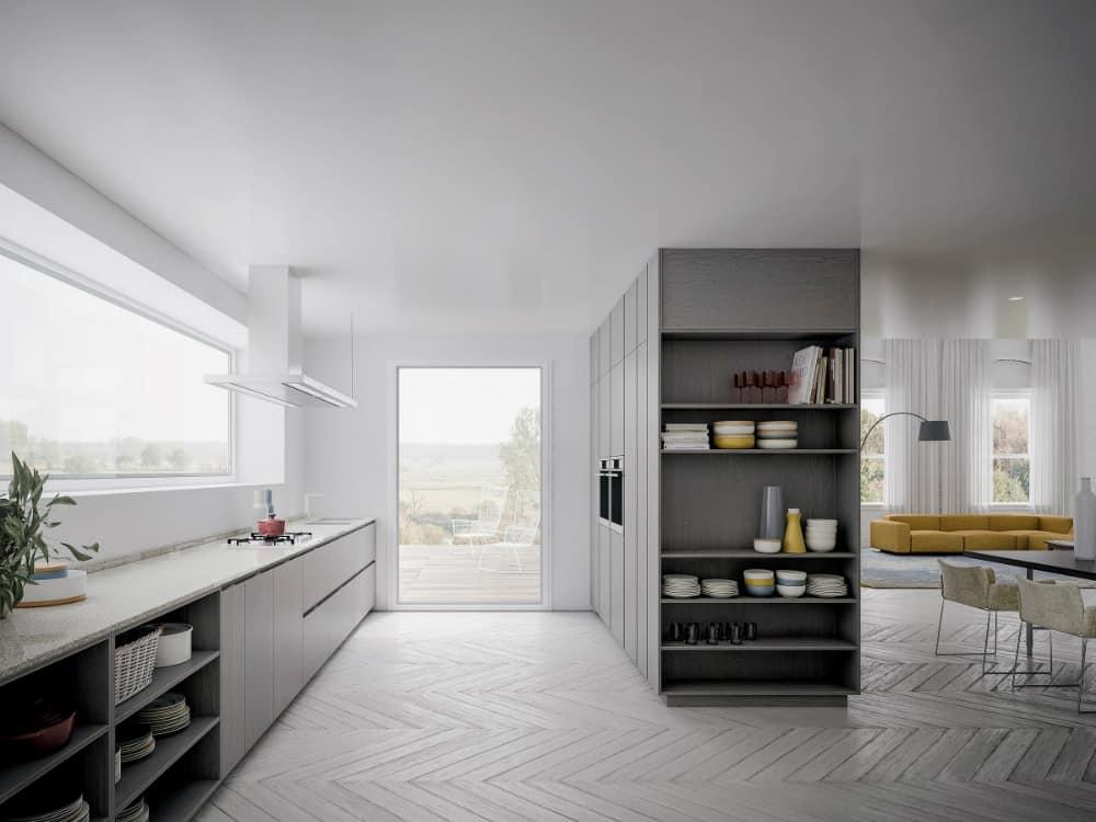 Velvet Profile I kitchen cabinets by GD Arredamenti