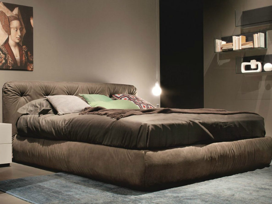 designer modern real genuine leather bed / soft bed/double bed king/queen  size bedroom home furniture hot sale American style-in Beds from Furniture  on ...