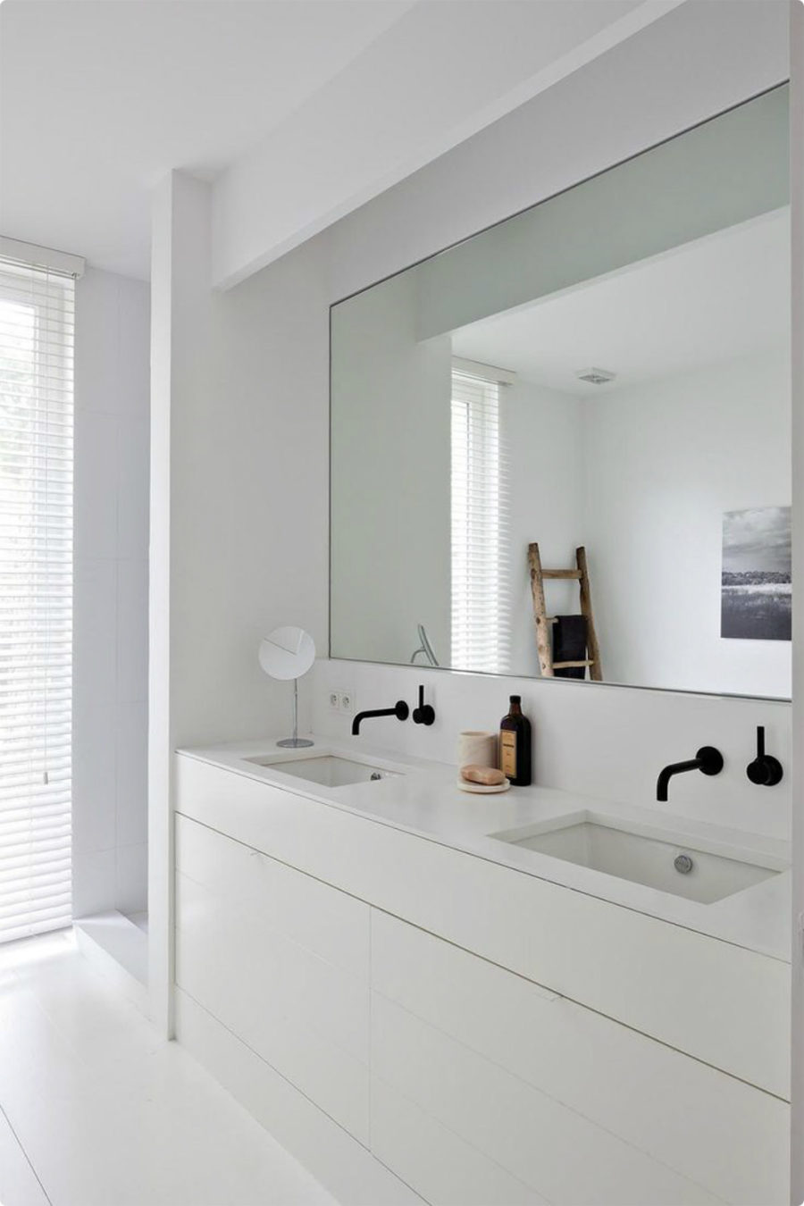 Charmant Big Bathroom Mirror Trend In Real Interiors