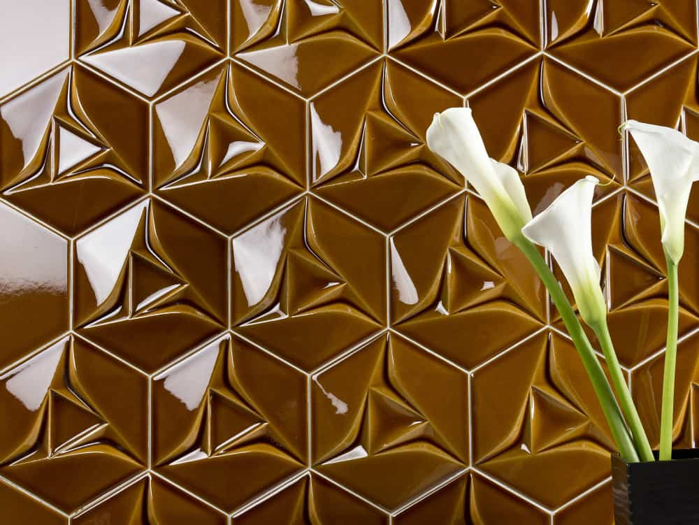 3D Tiles Space Concept Hexagon by Etruria Design