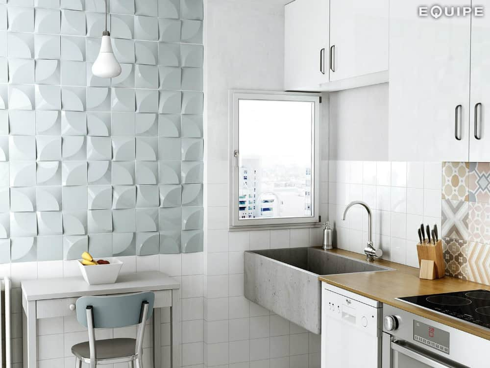 3D wall panels Magical 3 by Equipe Ceramicas