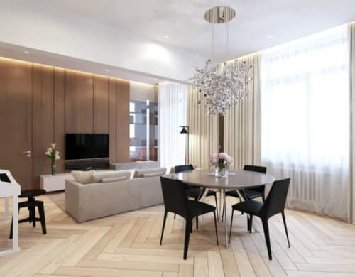Refined Elegance in Moscow Apartment by Shamsudin Kerimov