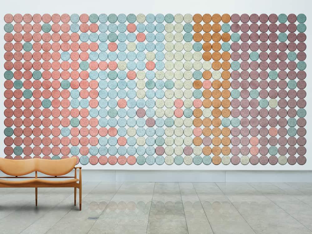 Acoustic Wood Wool Tiles by Baux