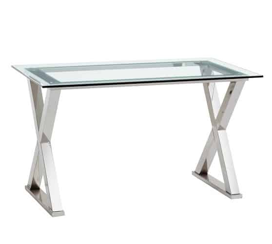 Ava Metal Desk These 20 Glass Top Desk Will Start Your Home Office Revamp
