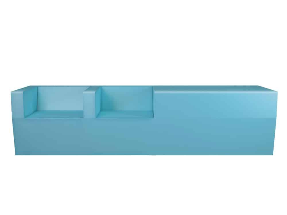 Block bench by Stratta