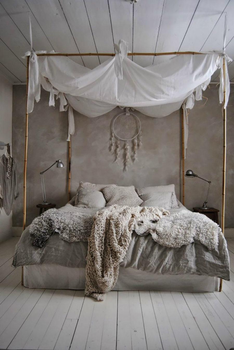 Best  in gallery Boho bedroom canopy