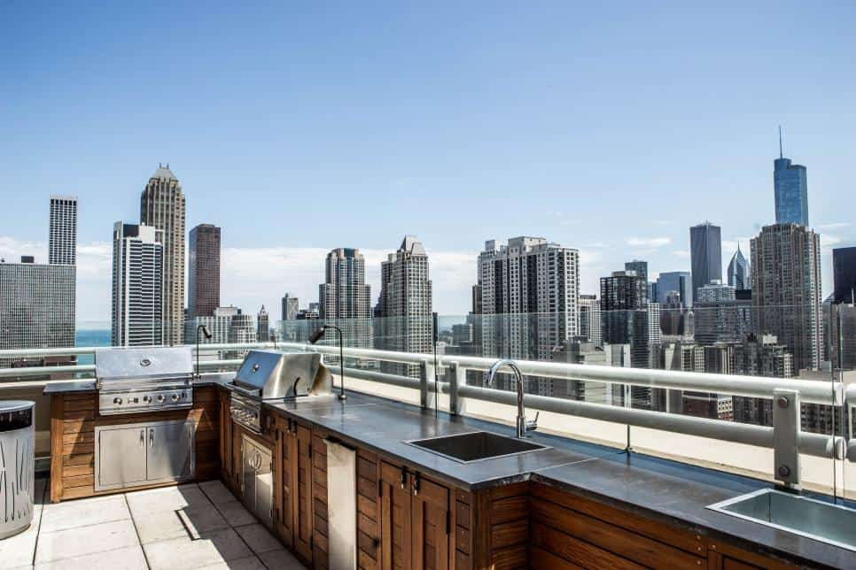 Chicago Roof Deck and Garden