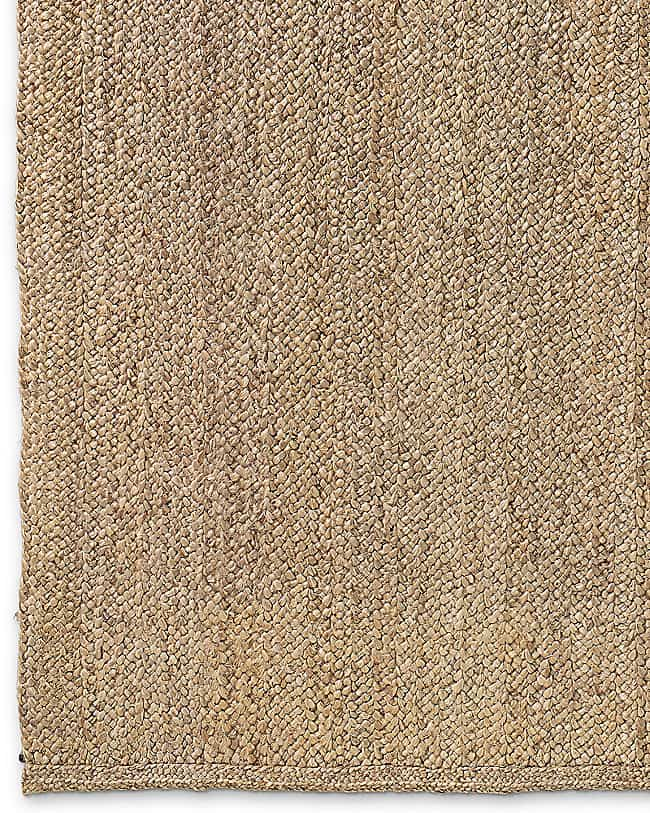 Chunky Braided Jute rug from RH