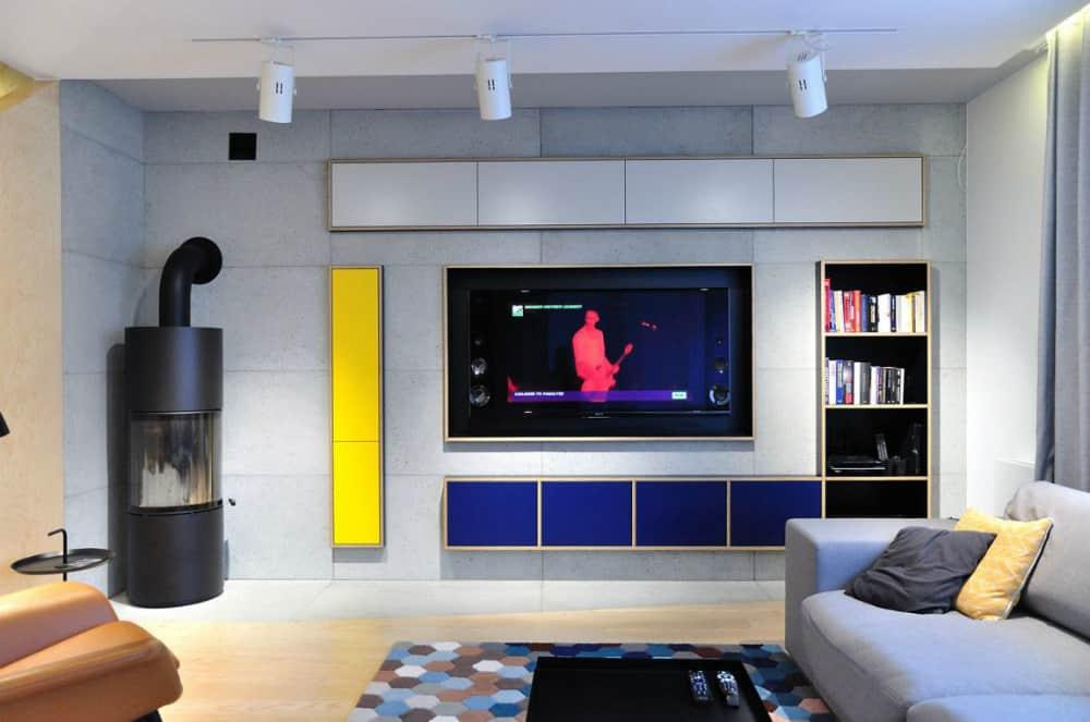 Colorful apartment by Ministerstwo Spraw We Wnętrzach