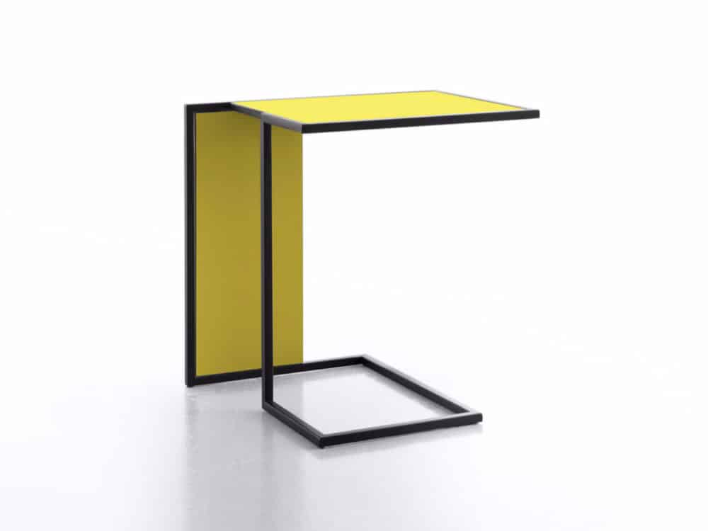 Contemporary Riva side table by Lions at Work