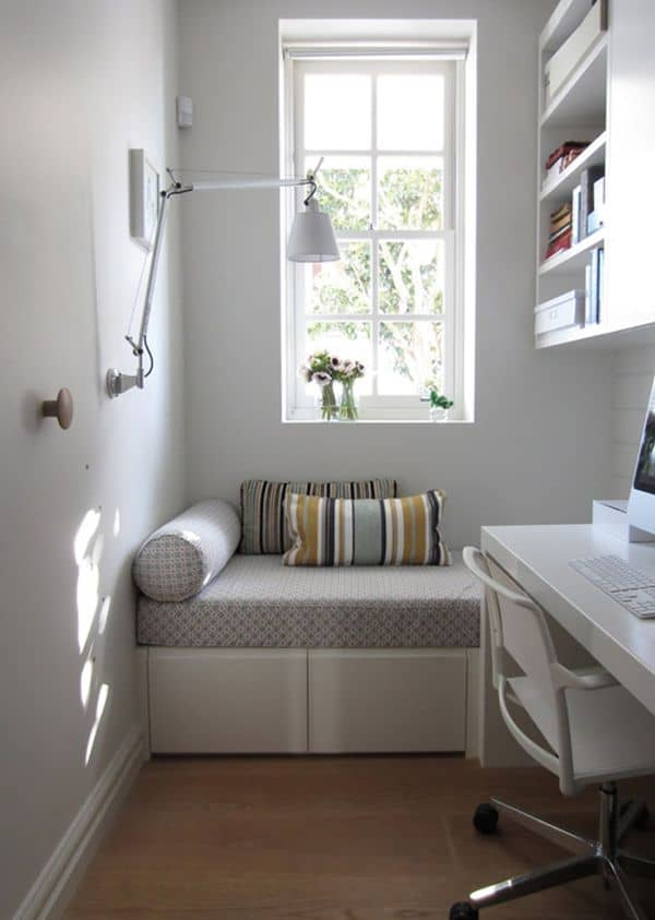 Corner Seating Small Space Idea 40 Small Room Ideas To Jumpstart Your Redecorating