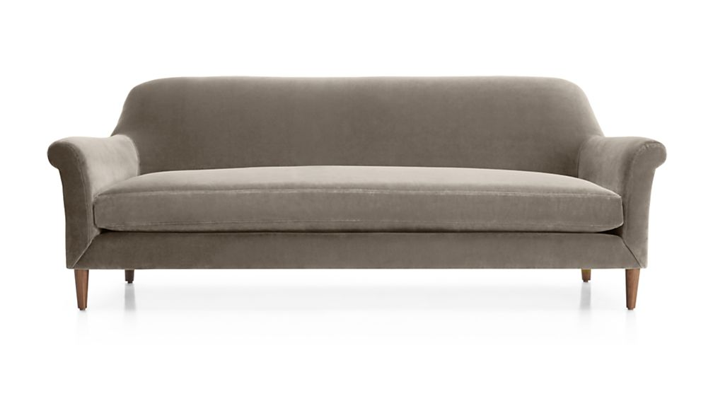 Cullen Velvet Sofa from Crate and Barrel