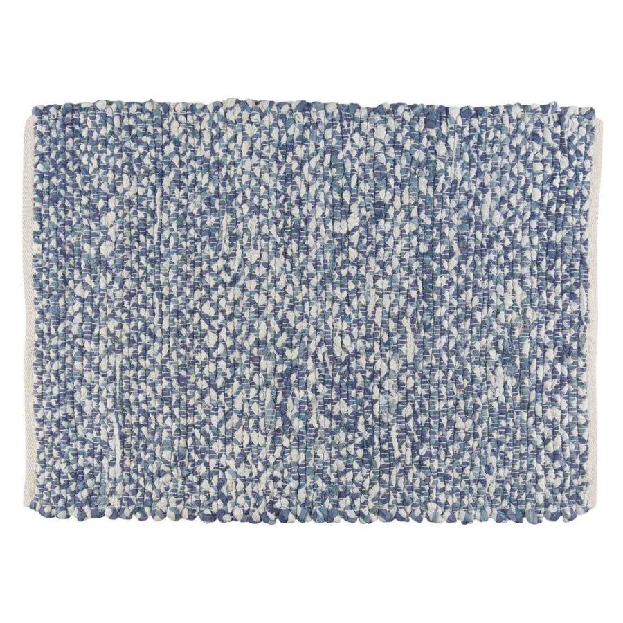 Cool View in gallery Denim Blue Woven Rug