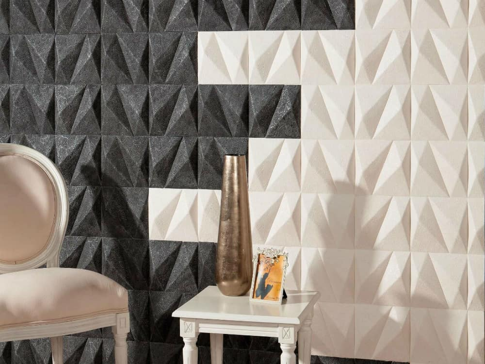 Emphasize wall covering from Harmony