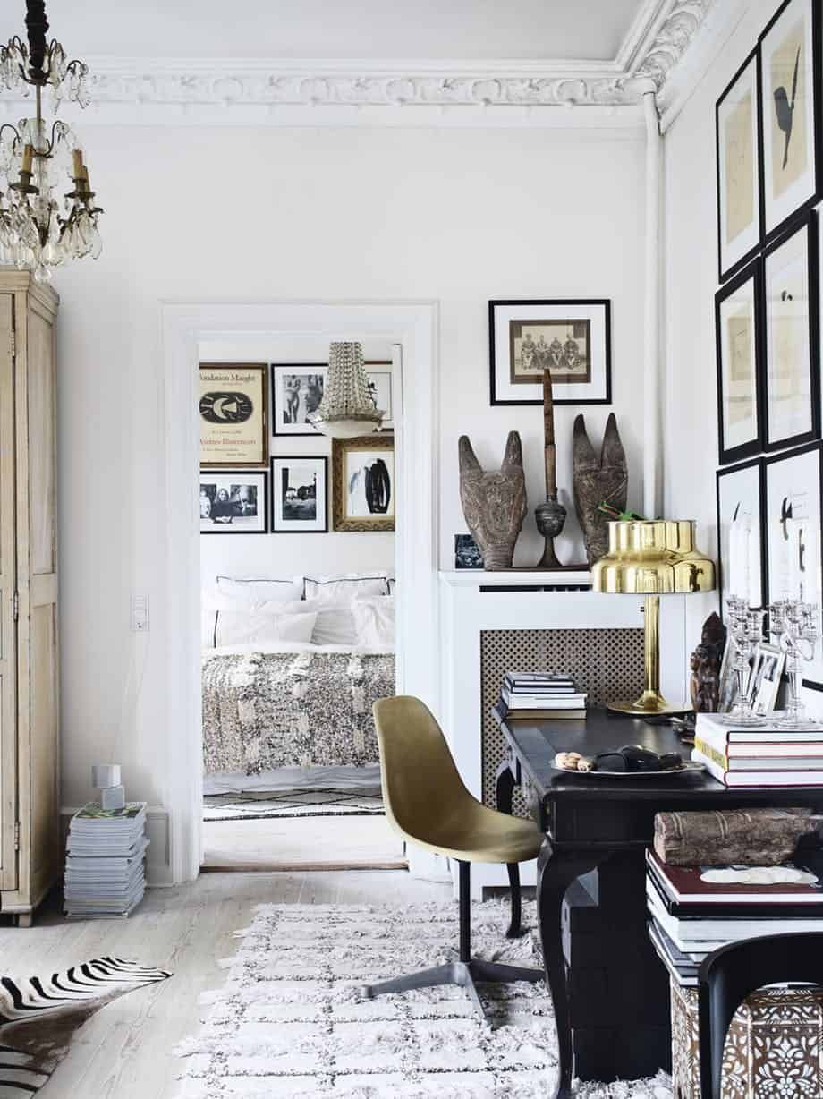 Fashionable luxury home office