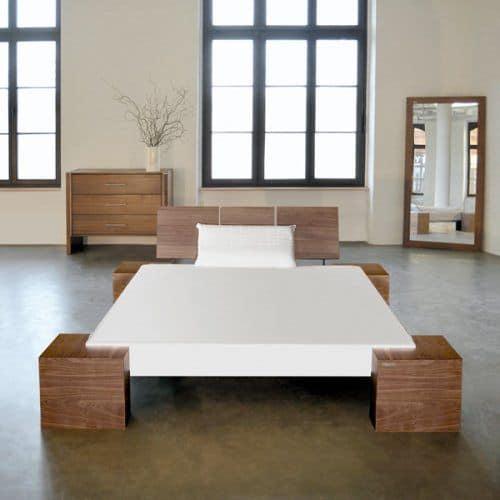 Floating Modern Platform Bed