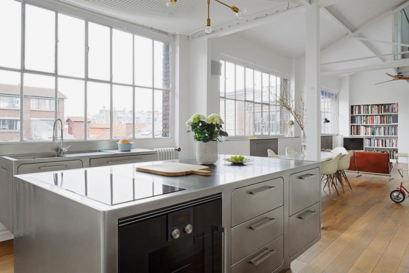 French loft with a Scandinavian spirit French Loft With a Scandinavian Spirit