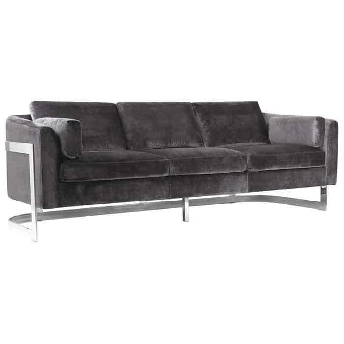 Zealand Velvet Sofa from Nebraska Furniture Mart
