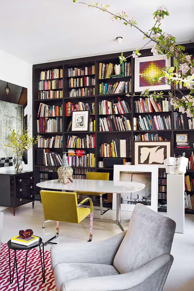 Modern Home Liry Ideas for Bookworms and Butterflies on