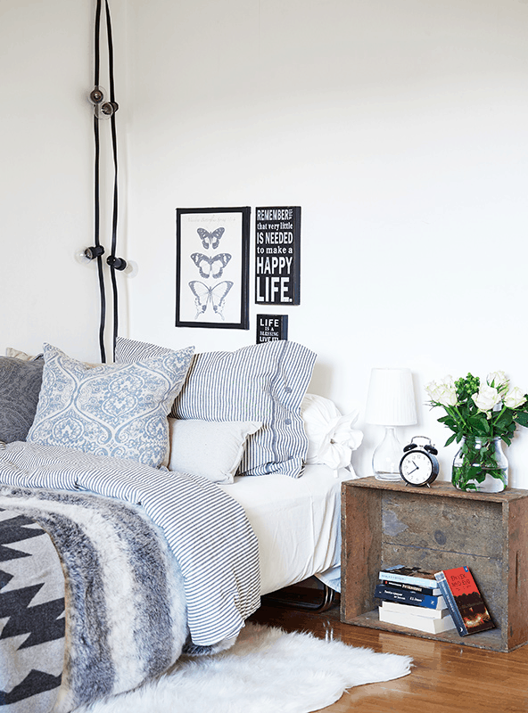 Hang Lights in Small Spaces