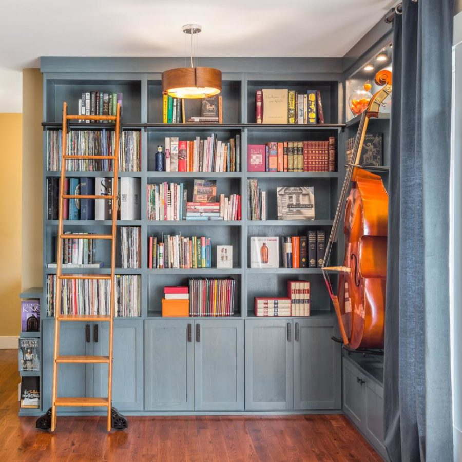 Home Library Ideas Part - 42: ... Library By Parsonson Architects View In Gallery Home ...