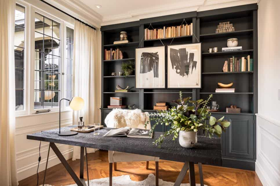 Home office design by Brittany Haines