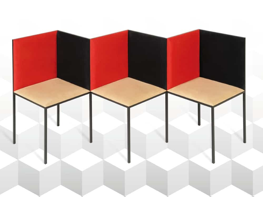Illusion bench by 22 22 Edition Design