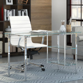 These 20 Glass Top Desk Will Start Your Home Office Revamp