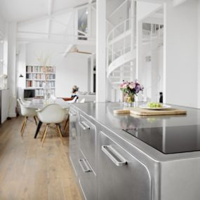 French Loft With a Scandinavian Spirit