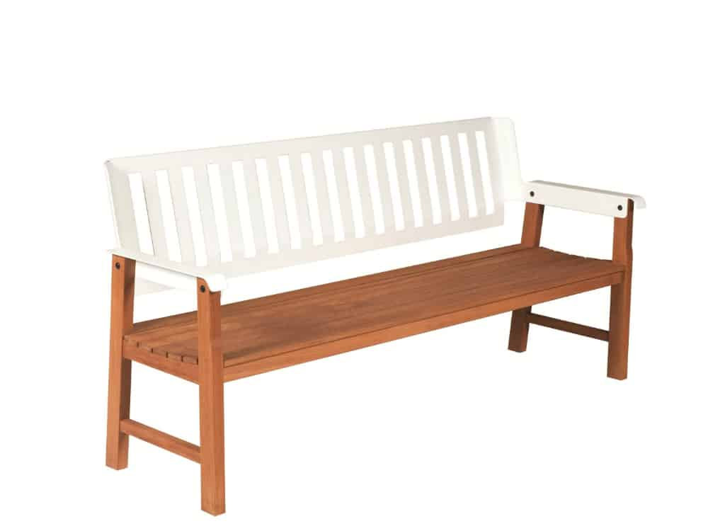 Lausanne bench by Tectona