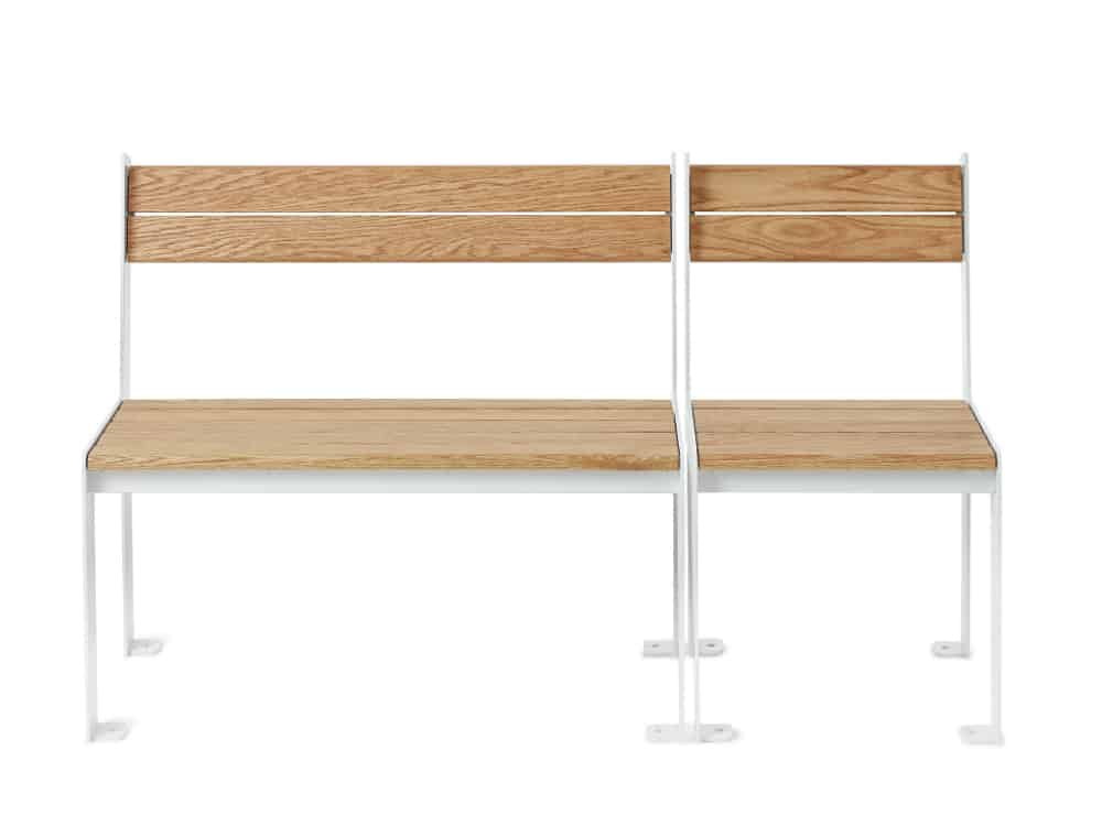 Low-High bench by Nola Industrier