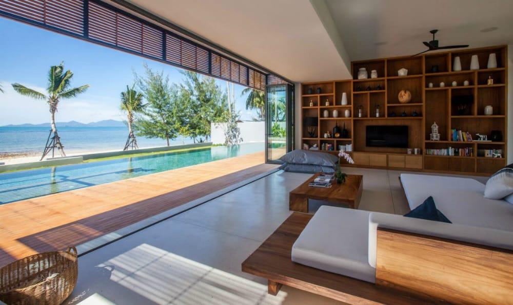 Malouna Villas by Sicart and Smith Architects