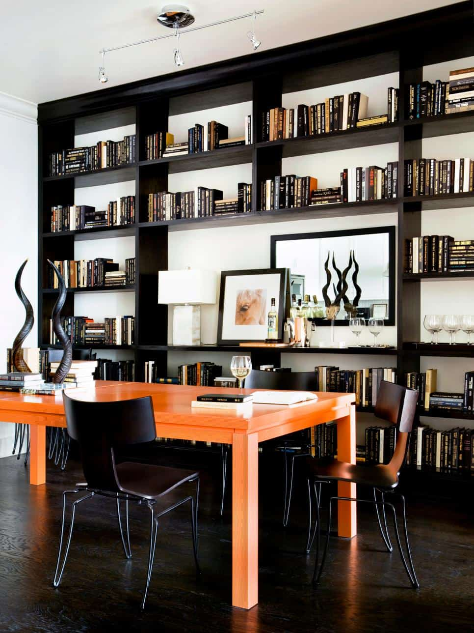 Masculine home office by Robert Brown