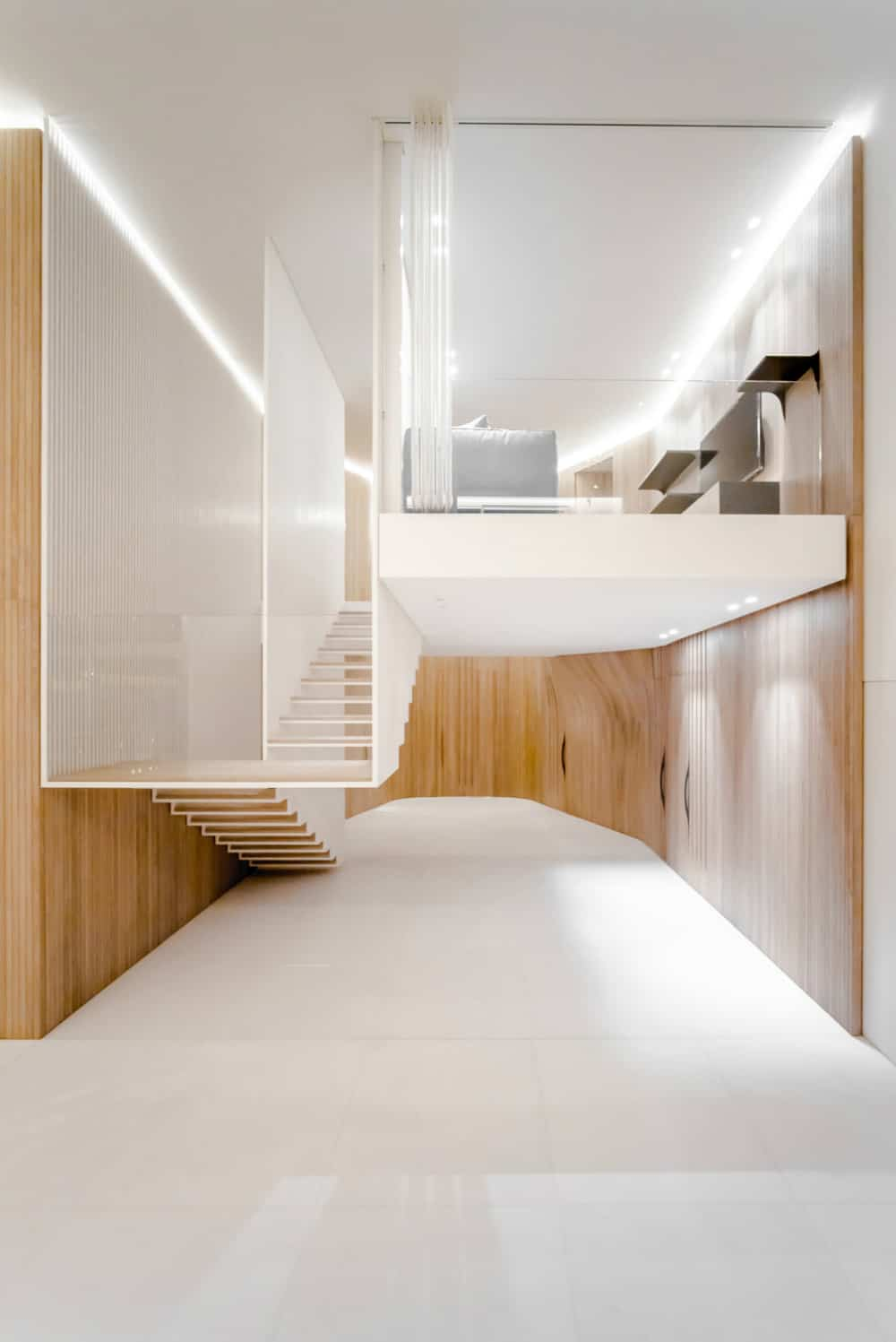 Mezzanine sits in a pocket of space without a strict outline