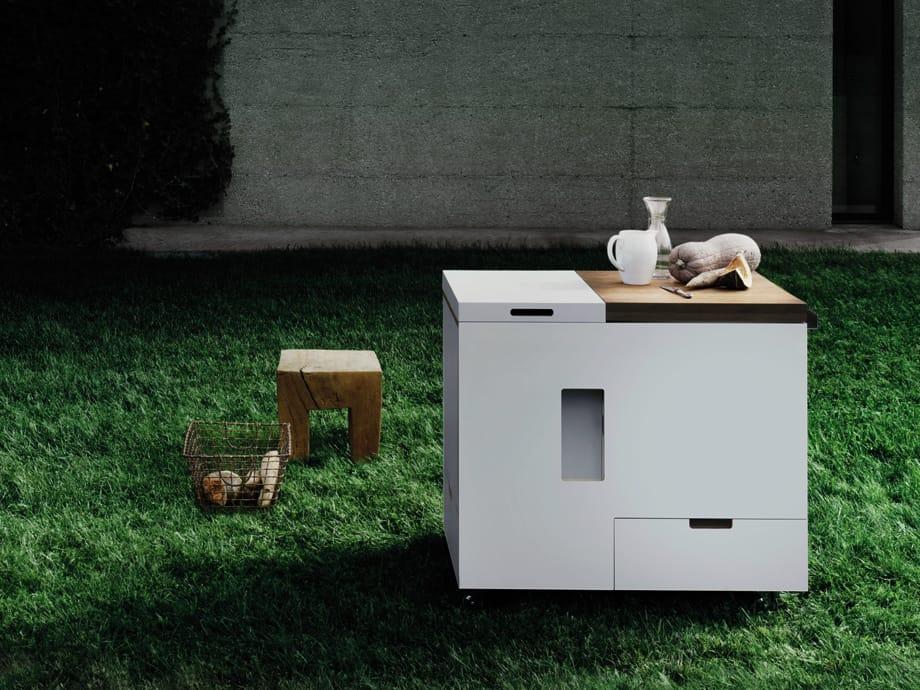 Minikitchen Outdoor by Boffi