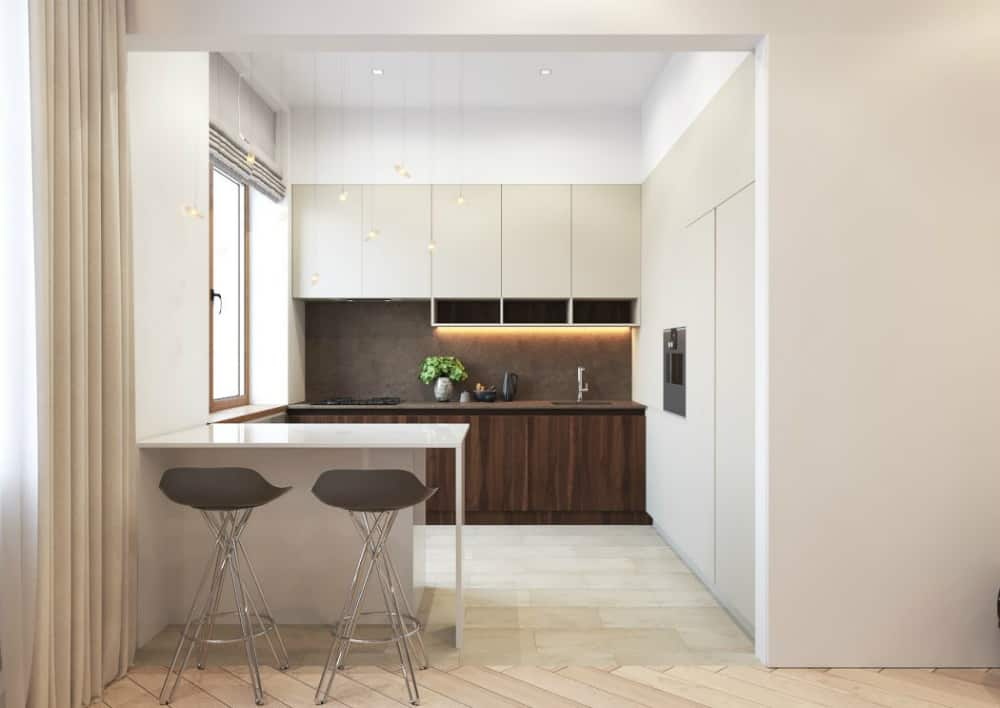 Minimal kitchen looks as elegant as the rest of the space