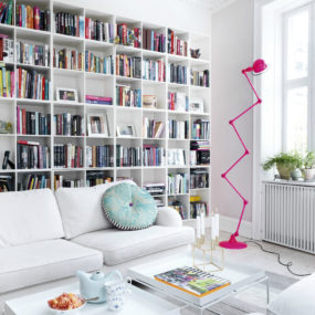 Modern Home Library Ideas for Bookworms and Butterflies