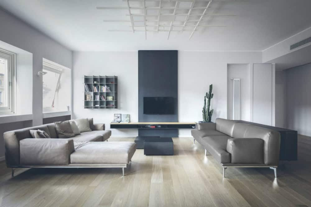Neutral apartment by MARGstudio