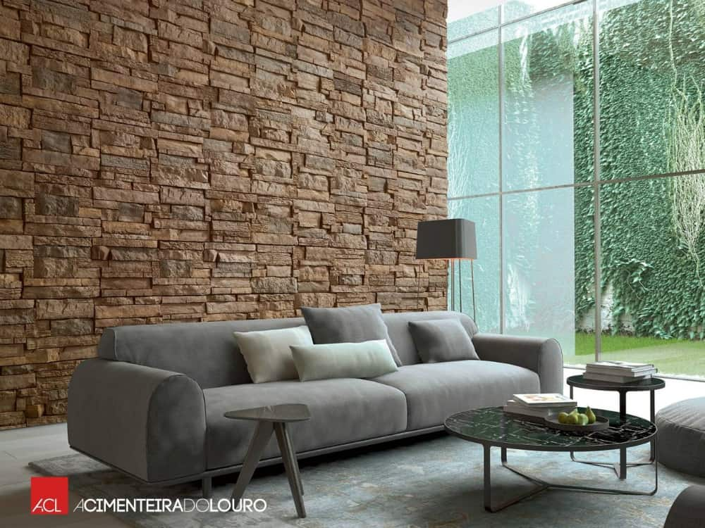 Nisa wall covering by A Cimenteira Do Louro