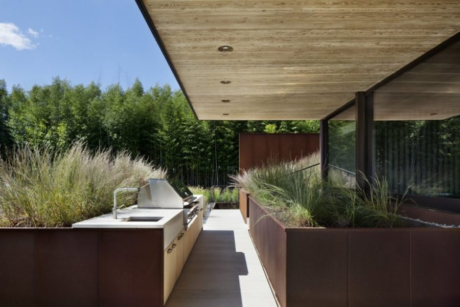 Closer to Home. When planning a modern outdoor kitchen ...