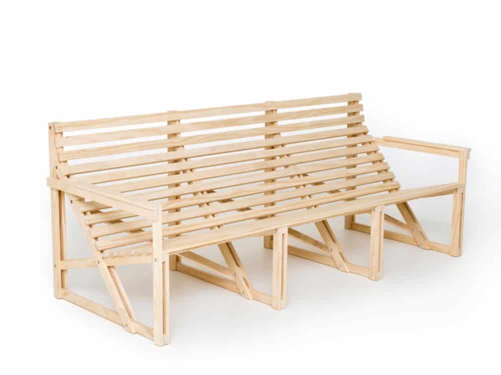 Patioset bench by Weltevree