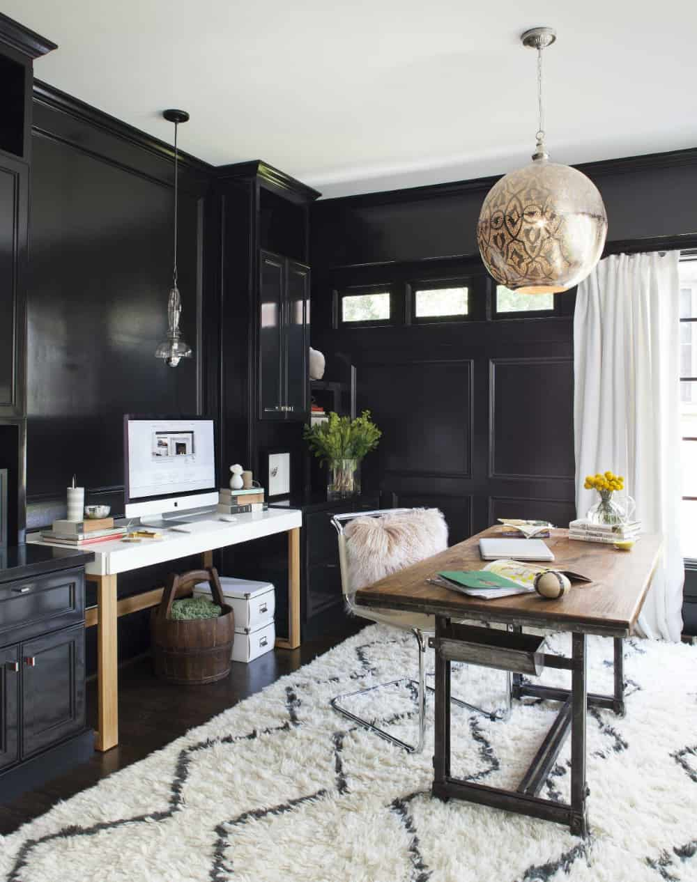 Porch-turned-home office