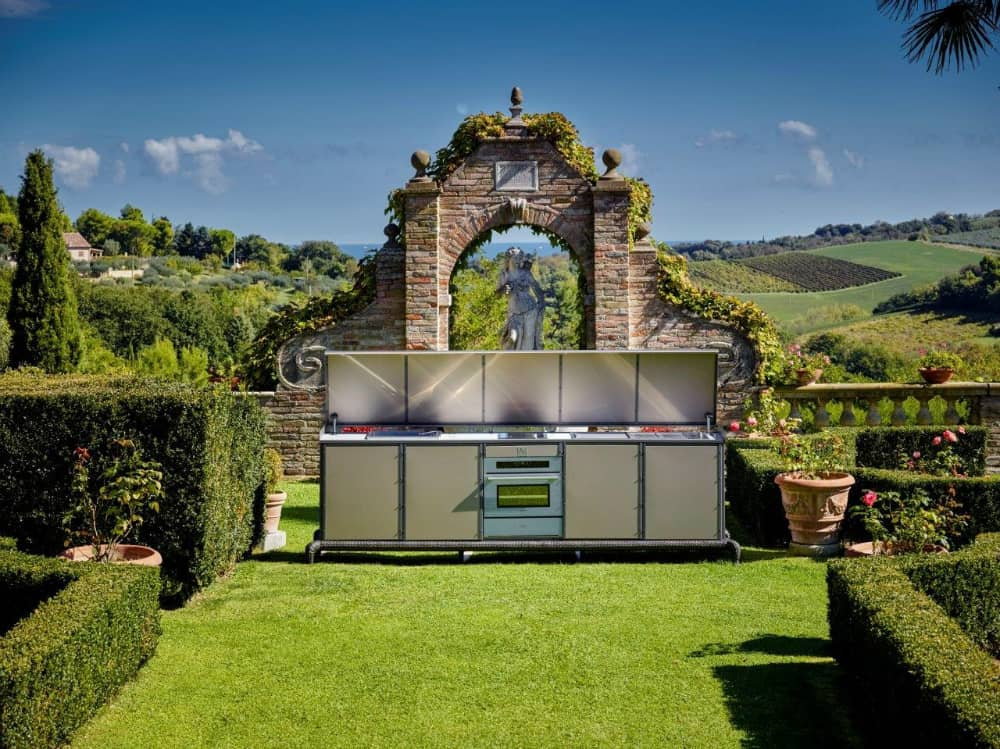 Samuele Mazza Outdoor Collection kitchen