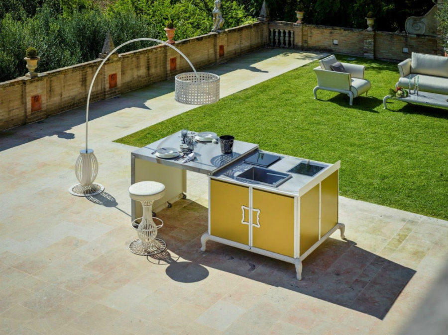 Free Standing Outdoor Kitchens - 3d House Drawing •