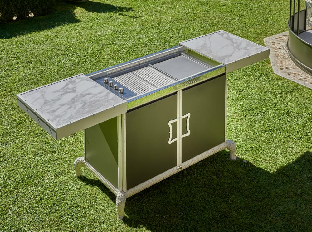 Samuele Mazza outdoor collection kitchen by DFN