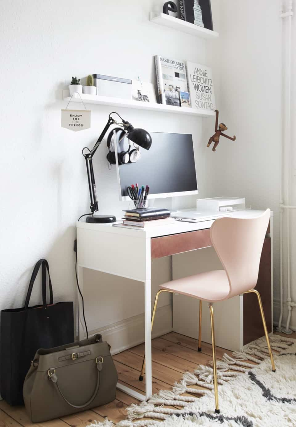 Simple modern home office