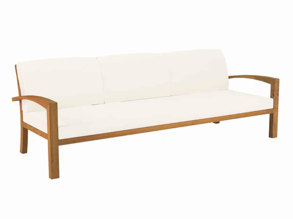 Soft garden bench by Royal Botania