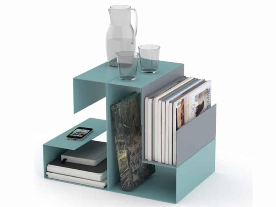 Storage-friendly side table Big El by Konstantin Slawinski