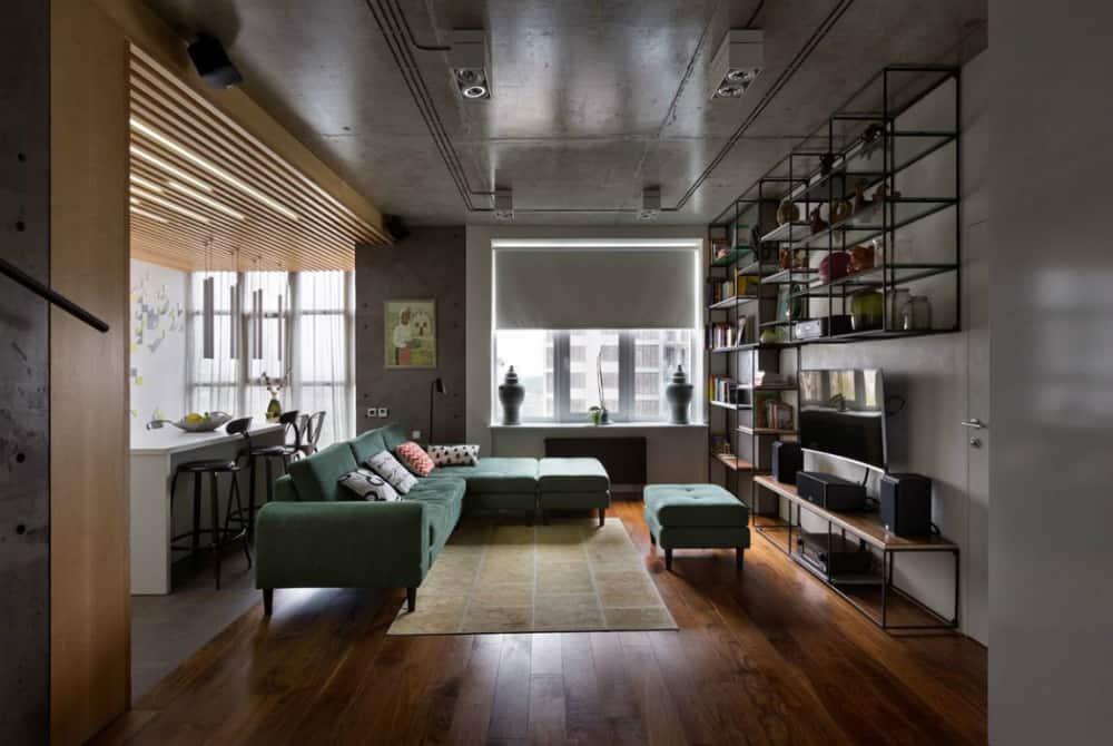Stylish apartment in Kiev by Sergey Makhno Architects