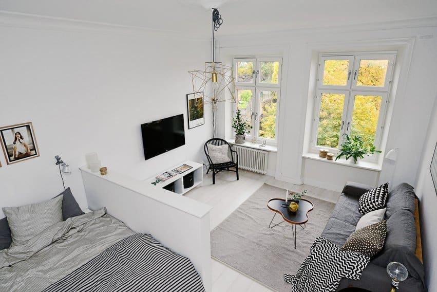Swedish studio apartment